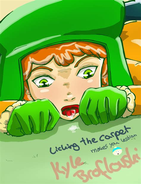 rug licker south park the carpet by lichtdiamant on deviantart