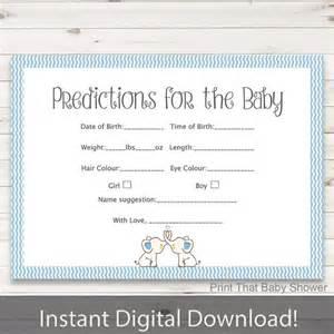 baby shower baby predictions baby predictiction