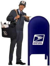 does the mailman come on versus american in the classroom