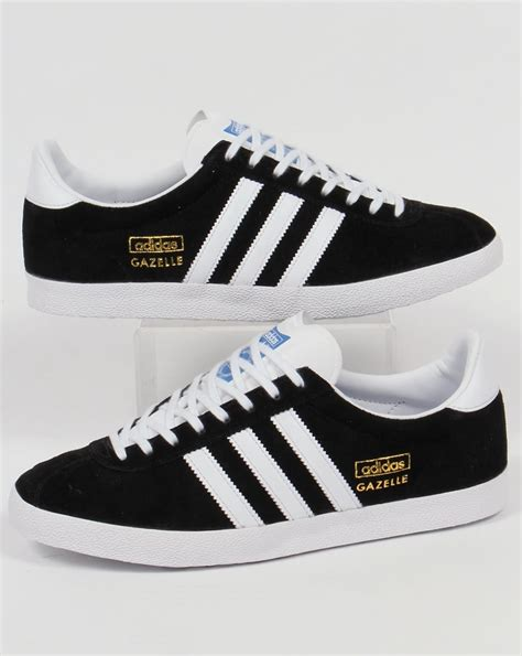 adidas gazelle black adidas gazelle og trainers black white originals mens shoes
