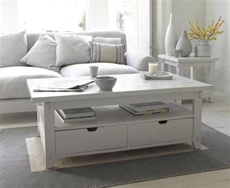 White Coffee Table With Drawers Great White White Coffee Tables White Coffee And Drawers