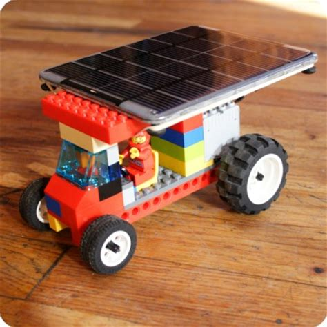solar powered lego car | voltaic solar blog