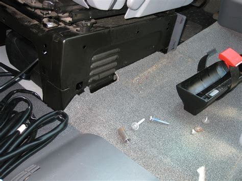 caisson sous siege chauffage stationnaire sur mon mp installation termin 233