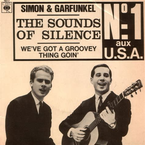 sound of silence testo lovely 60 s simon garfunkel the sound of silence