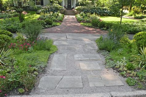 sidewalk landscaping ideas hgtv