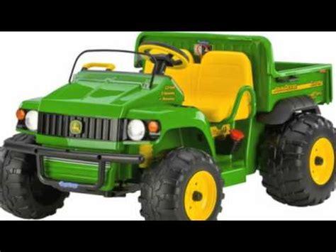 john deere kids electric ride on tractors youtube