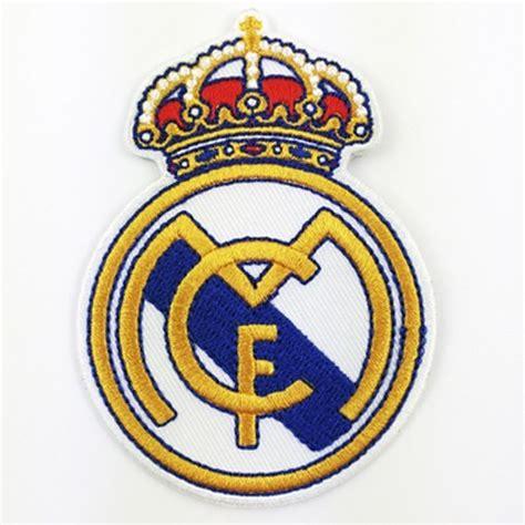 Logo Patch Woven Emblem Club Bola Real Madrid patch real madrid logo club liga