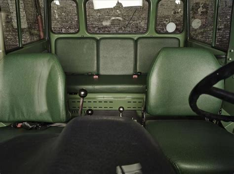 Unimog Cer Interior by Mercedes Unimog Doppelkabine
