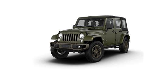 Jeep Wrangler Models By Year Jeep 75th Anniversary Edition Special Edition Models