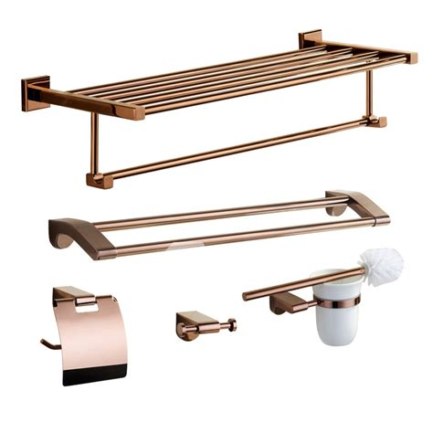 rose gold bathroom accessories pink modern rose gold bathroom accessories sets