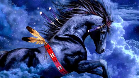 wallpaper blue horse blue horse 3d wallpapers hd o wallpaper picture photo