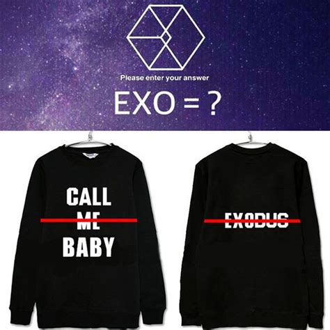 Jaket Sweater Exo Black Hoodie details about kpop exo call me baby hoodie jumper sweater unisex pullover sweatershirts sehun