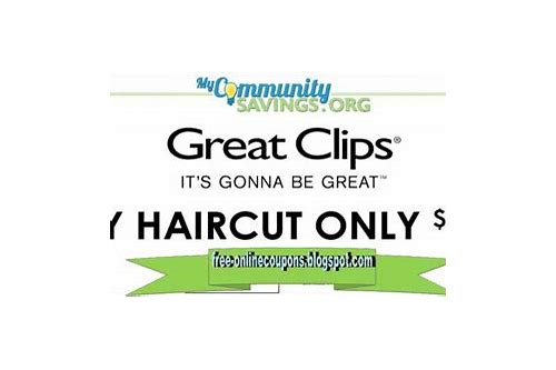 great clips coupon 47906