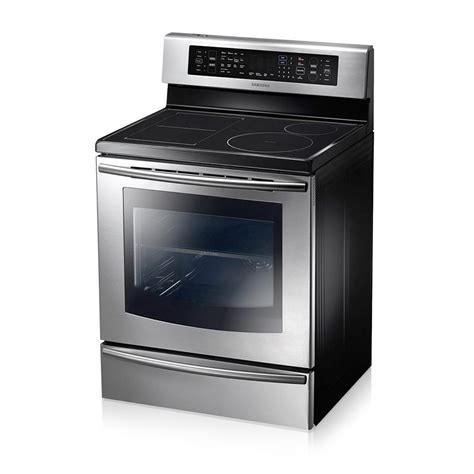 samsung 30 freestanding induction flexduo range 5 9 cu ft ne599n1pb mtc factory outlet