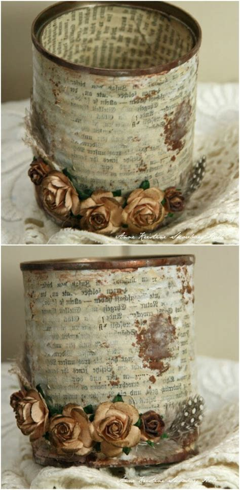 Tin Decor by 13 Diy Tin Cans Into Adorable Decor Ideas