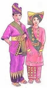 Baju Daerah Sumatra pakaian adat baju adat jawa barat the knownledge