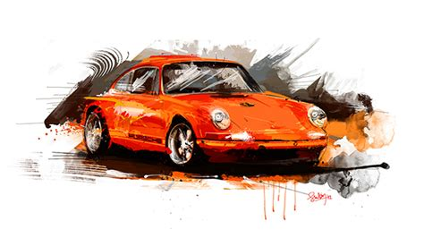 painting for cars cars motorsport digital painting on behance