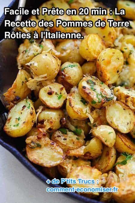 comment cuisiner les pommes de terre facile et pr 234 te en 20 min la recette des pommes de terre