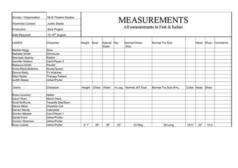 measurement template rosslesslietheatre ross lesslie theatre studies page 2