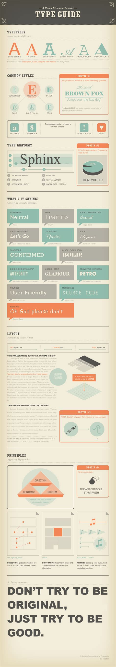 typography guide 6 inspiring exles of infographic design bonus desgr