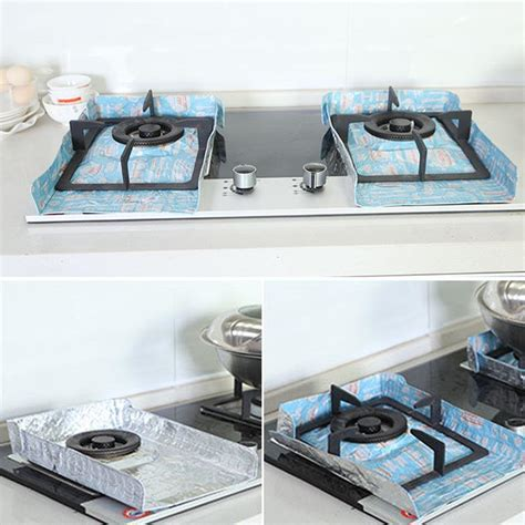 Kitchen Stove Insulation 1pc anti pad baffle plate protection insulation board