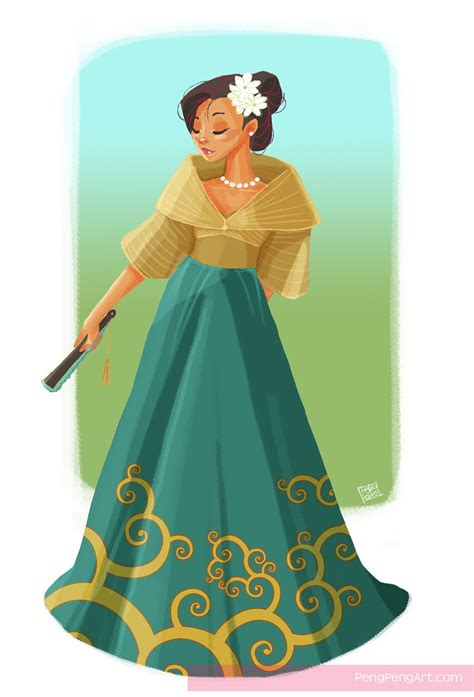 philippines traditional clothing for kids filipiniana maria clara by peng peng on deviantart