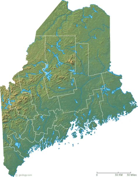 map maine map of maine
