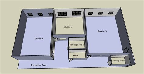 dance studio floor plan petrov ballet school facilities