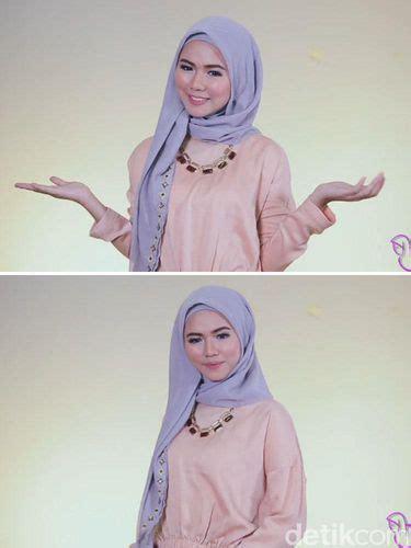 video tutorial jilbab segi 4 video tutorial 3 langkah kreasikan jilbab segi empat