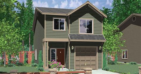 houses for narrow lots narrow lot house plans building small houses lots house