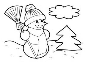 Coloring sheets for preschoolers printable christmas coloring pages