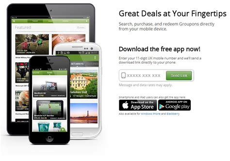 groupon mobile app groupon voucher codes deals discount codes 20