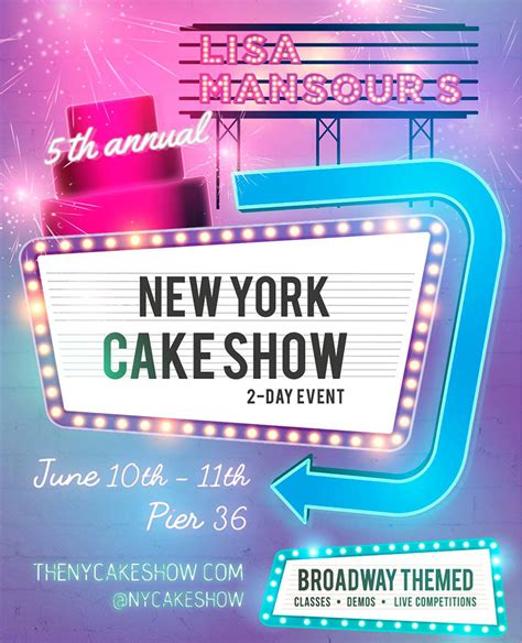 Razorlight New York Show May 10th Only Us Show Till The Fall Details Belowand Maybe Youll Catch Kirsten D ny cake show by mansour