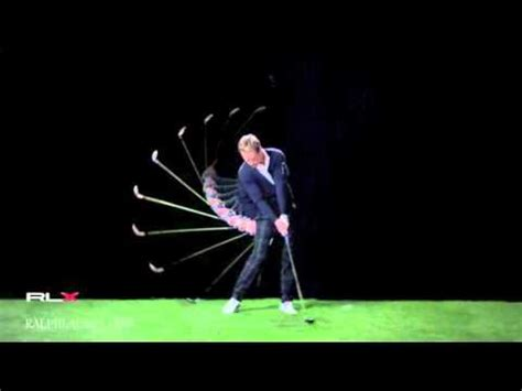 luke donald iron swing luke donald s swing by rlx edited version youtube