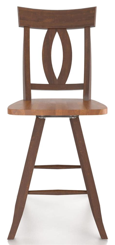 Canadel Bar Stool Prices by Canadel Bar Stools Customizable 24 Quot Swivel Stool