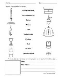 interactive church tour worksheet religious education