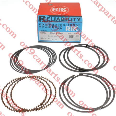Piston Ring Set Rik 26020 Size 100 Made In Japan kancil 660 850 94y 08y piston ring set rik kancil