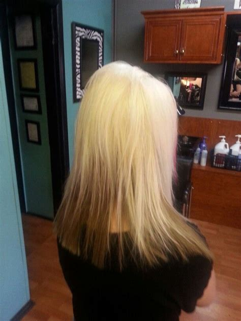 midlength blonde reverse ombre platinum with carmel reverse ombre hair color for blondes