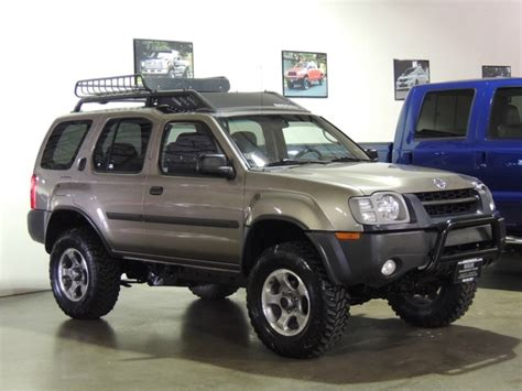 2003 Nissan Xterra Charge Lifted Mud Tires 4x4