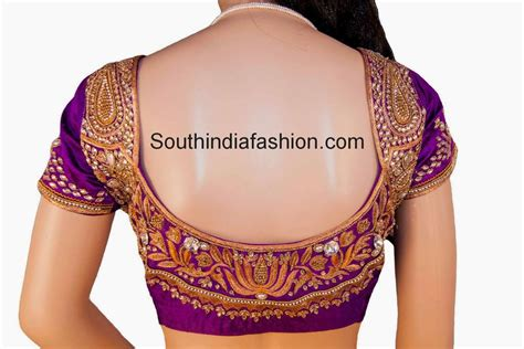 designs for top 10 blouse designs for wedding silk sarees south india
