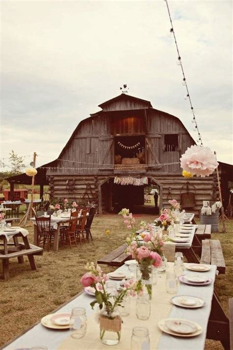 inspired by rustic country barn weddings