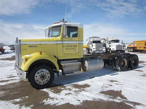 kenworth heavy duty 1987 kenworth w900b heavy duty cab chassis truck for