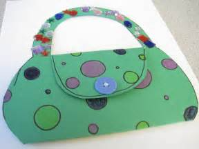 preschool crafts for kids mother s day purse card craft