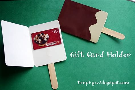 Ice Gift Card - ice cream gift card holder cute ideas pinterest gift card holders ice cream