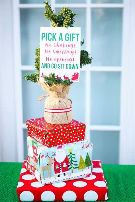 themed gift exchanges for christmas creative gift exchange game idea free printable exchange