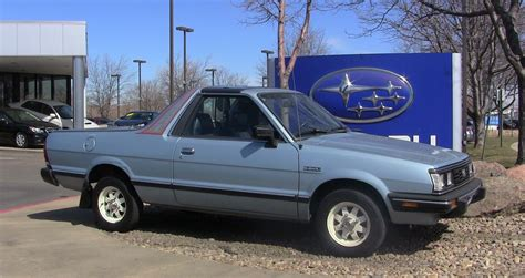 1993 subaru brat for sale photo of the day what a nice subaru brat the fast lane