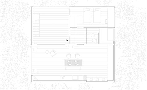 Open Plan House Floor Plans Dearasis Go Hasegawa Pilotis In A Forest