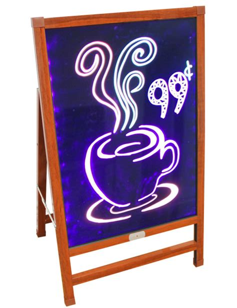 Used Outdoor Light Box Signs A Frame Outdoor Led Light Box Printfinish