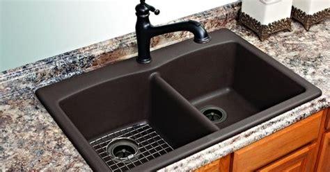 Franke Kitchen Sinks Granite Composite Franke Dual Mount Composite Granite 33x22x9 1 Basin Kitchen Sink In Mocha Granite