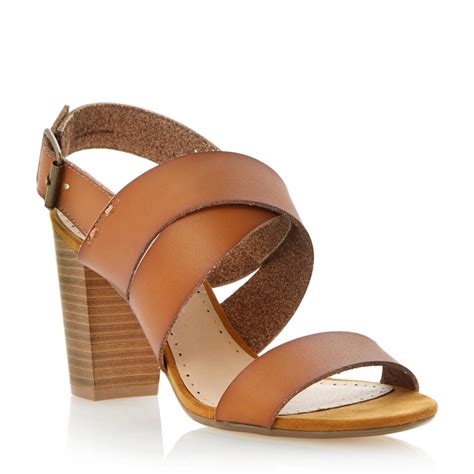 strappy sandal heels roberto vianni strappy block heel sandal